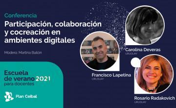 Conferencia: Participación, colaboración y cocreación en ambientes ditgitales