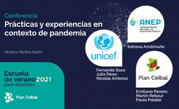 Conferencia: Prácticas y experiencias en contexto de pandemia.