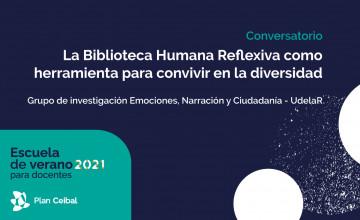 Conversatorio: La Biblioteca Humana Reflexiva como herramienta para convivir en la diversidad
